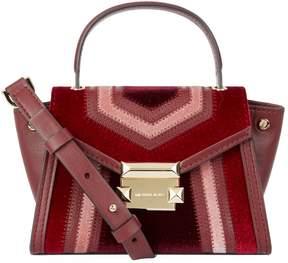 MICHAEL Michael Kors Mini Whitney Leather Messenger Bag