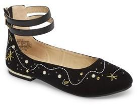 Sam Edelman Girl's Felicia Jax Embellished Flat
