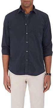 Hartford Men's Paul Cotton Twill Button-Front Shirt