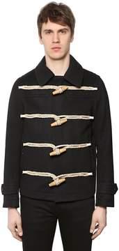 Burberry Short Wool Cloth Duffle Coat