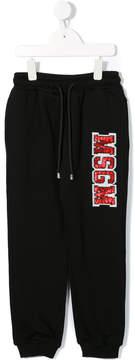 MSGM embellished track pants