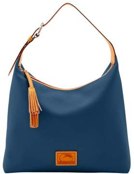 Dooney & Bourke Patterson Leather Large Paige Sac Shoulder Bag - MIDNIGHT BLUE - STYLE