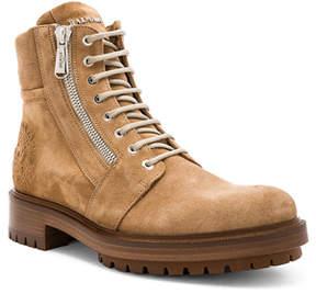 Balmain Suede Ranger Army Boots