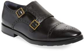 Cole Haan Men's Jefferson Grand Leather Double Monkstrap