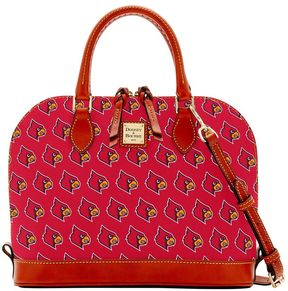 NCAA Louisville Zip Zip Satchel