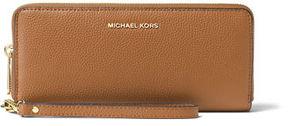 MICHAEL Michael Kors Mercer Leather Continental Wristlet - PINK - STYLE