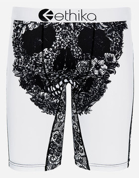 Ethika Lace Skull Staple Mens Boxer Briefs