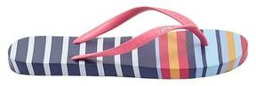 Joules Women's Multi Stripe Flip Flop Sandals