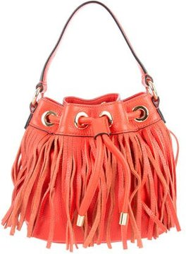 Milly Fringe Essex Drawstring Bag