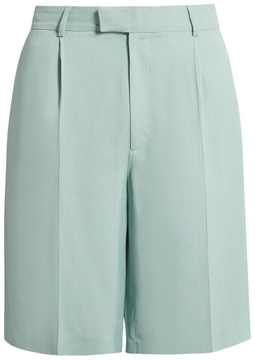Raey Soft-tailored crepe shorts
