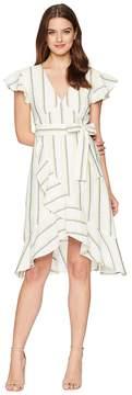 J.o.a. V-Neck Flare Dress Women's Dress