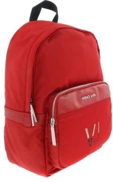 Versace EE1YRBB26 Red Backpack