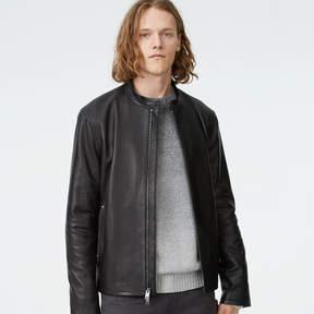 Club Monaco Leather Moto Jacket