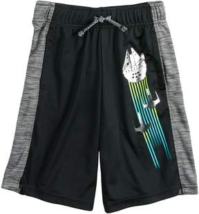 Star Wars A Collection For Kohls Boys 4-7x a Collection for Kohl's Rebel Trio Millennium Falcon Foiled Shorts