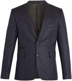 Paul Smith Notch-lapel wool and silk-blend blazer