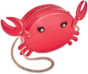 Betsey Johnson Pinch Me Crab Crossbody