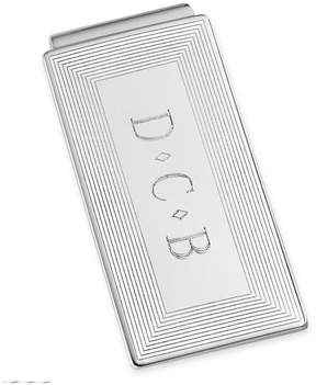 Asstd National Brand Personalized Rhodium-Plated Money Clip