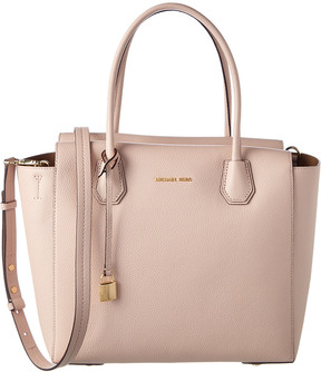 MICHAEL Michael Kors Mercer Large Leather Satchel - ONE COLOR - STYLE