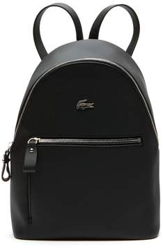 Lacoste Women's Daily Classic Coated Pique Canvas Backpack