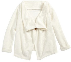 O'Neill Toddler Girl's Willow Drape Front Cardigan