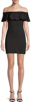 Susana Monaco Women's Off-The-Shoulder Bodycon Dress
