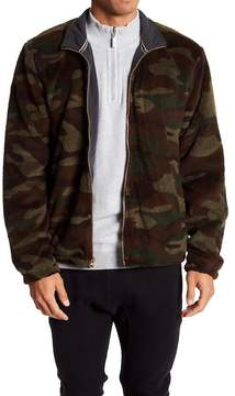 Weatherproof Camo Soft Fleece Zip Sweater