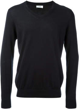 Closed V neck sweatshirt