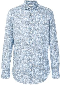 Etro floral paisley print shirt