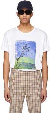 Acne Studios White Naive Land T-Shirt