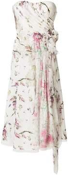 Ermanno Scervino floral strapless dress