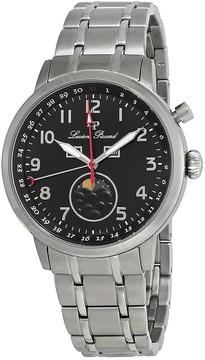 Lucien Piccard Complete Calendar Black Dial Men's Watch