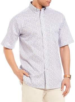 Daniel Cremieux Signature Printed Short-Sleeve Woven Shirt