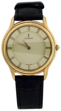 Corum 18K Yellow Gold Manual Wind Vintage 32mm Mens Watch