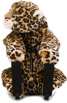 Dolce & Gabbana Leopard stuffed toy backpack