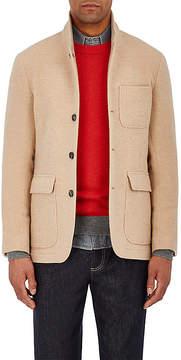 Brunello Cucinelli Men's Cashmere Melton Three-Button Sportcoat