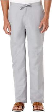 Cubavera Big and Tall Drawstring Linen-Blend 30 Length Pants
