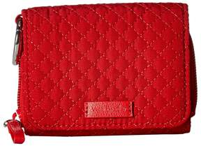 Vera Bradley Iconic RFID Card Case Wallet - CARDINAL RED - STYLE