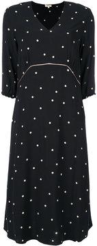 Bellerose polka dot flared dress