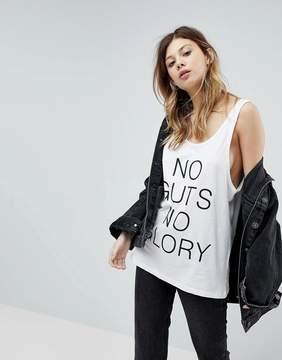 Noisy May Slogan Tank