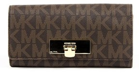 Michael Kors Womens Purse Callie. - BROWN - STYLE