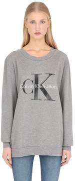 Calvin Klein Jeans True Icon Terrycloth Cotton Sweatshirt