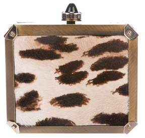 Lanvin Ponyhair Box Clutch