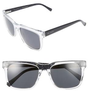 Ted Baker Men's 55Mm Polarized Sunglasses - Crystal