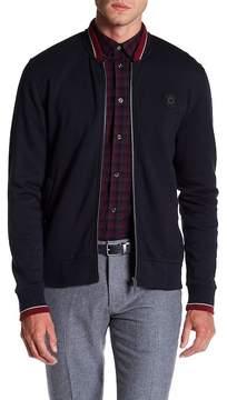 Ben Sherman Sport Tipped Jersey Bomber Jacket