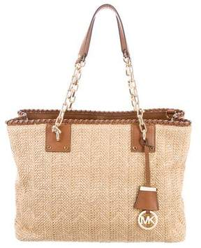 MICHAEL Michael Kors Rosalie East West Straw Tote