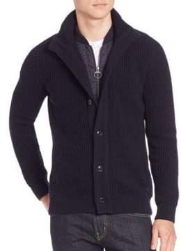 Barbour Long Sleeve Cotton Cardigan