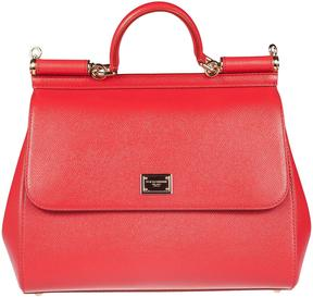 Dolce & Gabbana Miss Sicily Tote - RED - STYLE