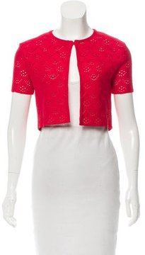 Christian Dior Pattern Short Sleeve Shrug w/ Tags