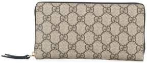 Gucci Signature zip around wallet - BROWN - STYLE