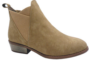 Wild Diva Taupe Mojave Bootie